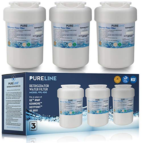 197D6321P006 2 Pack -Mist Compatible Models for GE: MWF GSE25GSHECSS MWFINT GWFA Smart Water MWFA MWFP HWF GWF GE MWF Water Filter Replacement HWFA MWFAP WFC1201 HDX FMG-1